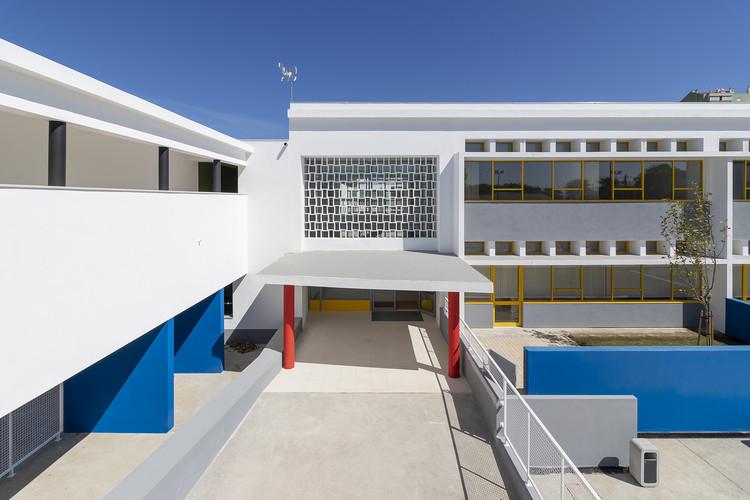 Escola EB Nº 53 Prof. Agostinho da Silva Marvila / Alexandre Marques Pereira Arquitectura, © José Mesquita