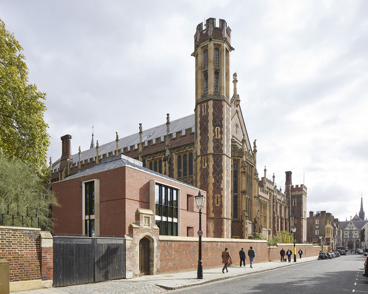 The Great Hall and Library for the Honourable Society of Lincoln's Inn / MICA, © Andy Stagg
