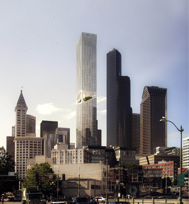 ODA Introduces New Approach to Tower Building in Seattle, Courtesy of ODA New York