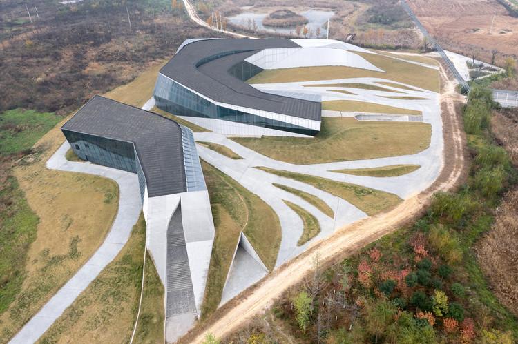 Luftaufnahme. Bild © Zhi Xia