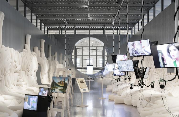 Weird Sensation Feels Good Exhibition at ArkDes / ĒTER, © Johan Dehlin