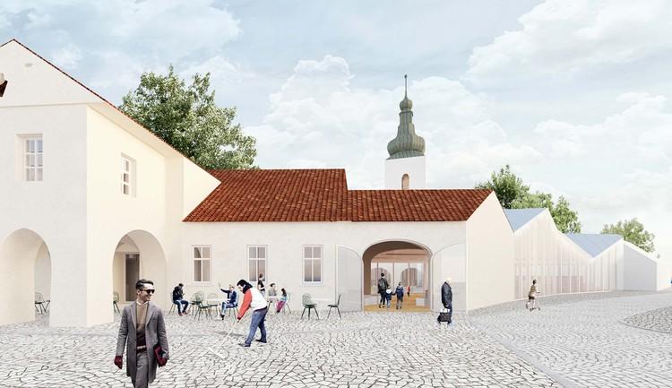 Cultural Center in Modřice Designed to Celebrate Czechia, Courtesy of ANAGRAM A-U & GRUPPA