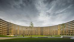 Vortex Student Housing / Dürig AG + Itten+Brechbühl AG