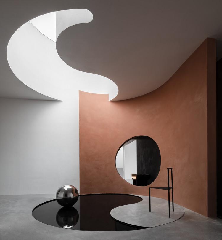 Danilo Paint Showroom / Jingu Phoenix Space Planning Organization, © Yun Ouyang