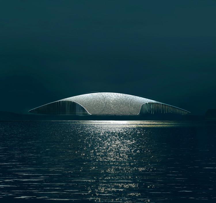 Conheça alguns dos maiores estúdios de visualizações de arquitetura do mundo, The Whale by Dorte Mandrup. Image © MIR