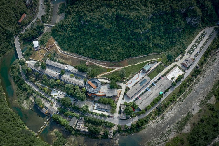 809 Werksfläche Luftbild. Bild © Jinge Song