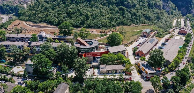 Luftbild. Bild © Jinjun Cao