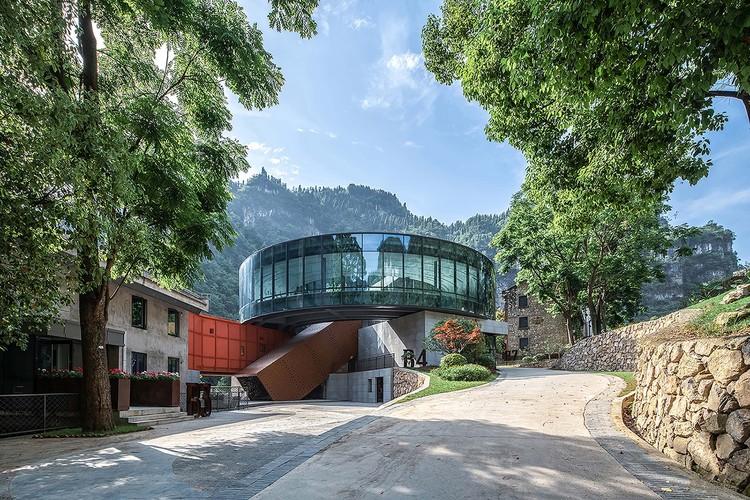 Neu gebaute Lobby. Bild © Yilong Zhao