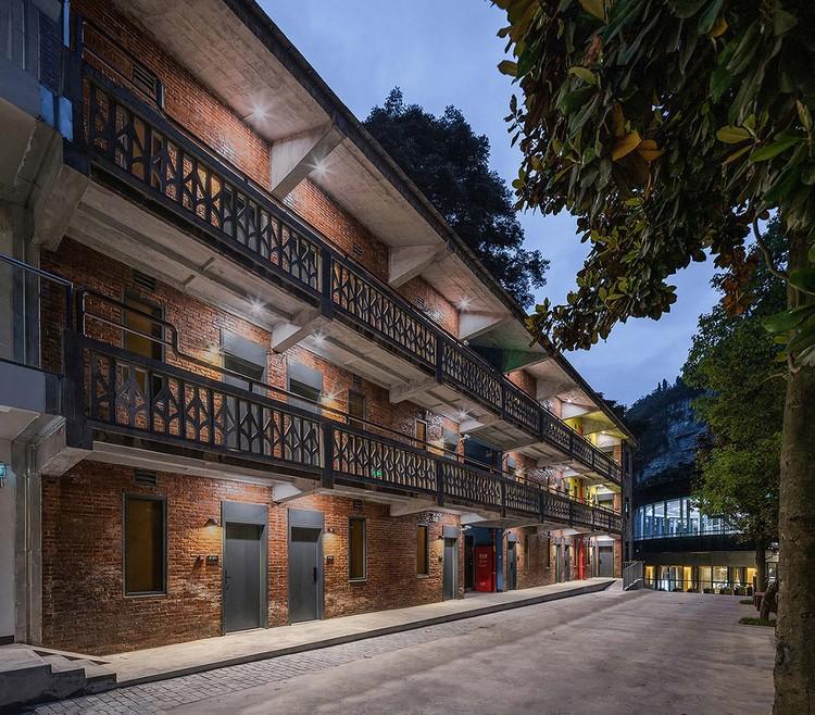 Äußere der Jugendherberge. Bild © Yilong Zhao