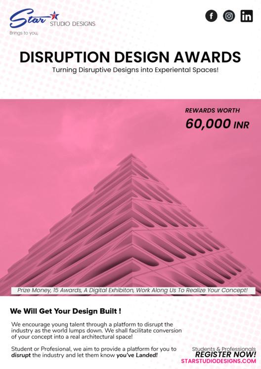 Disruptive Design Awards, Disruptive Design Awards