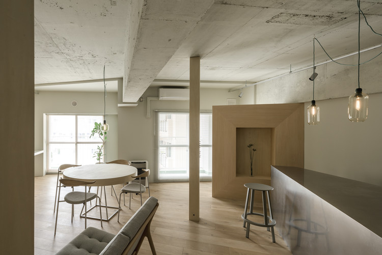 25° Apartamento / KIRI Architects, © Ikuya Sasaki