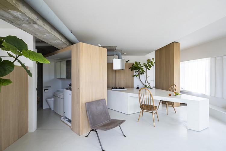 Apartamento ROOM 403 / KIRI Architects, © Anna Nagai