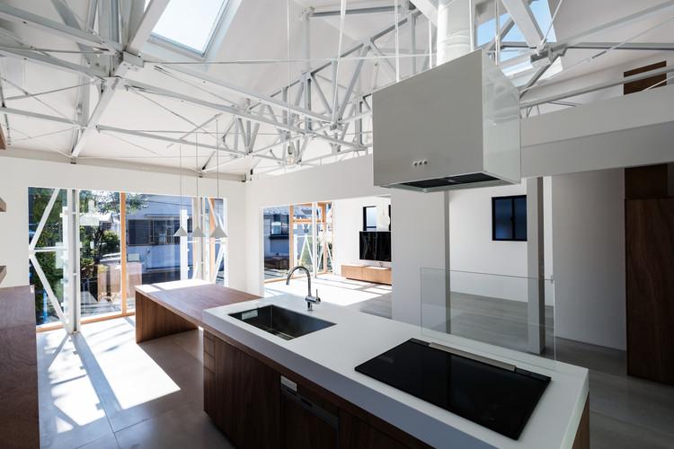 Casa en Nishi-eifuku / KIRI Architects, © Anna Nagai