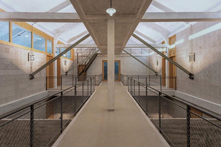 Silo Erlenmatt Renovation / Harry Gugger Studio, © Lukas Schwabenbauer
