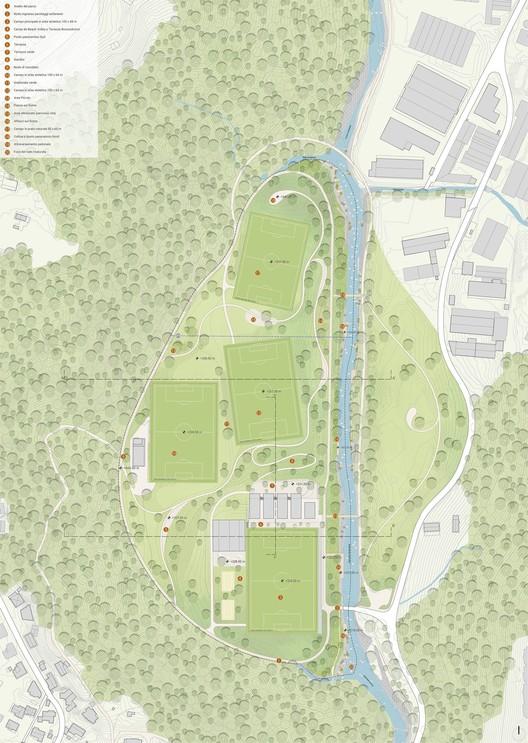 Parco dello Sport.  Image courtoisie de LAND Suisse