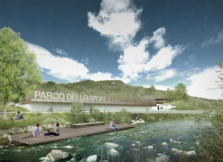 LAND Gets the Green Light for Parco dello Sport Al Maglio, a new Pole of Sports and Events in Switzerland, Parco dello Sport. Image Courtesy of LAND Suisse