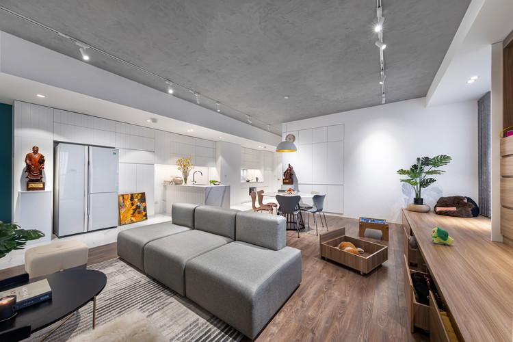 Emerald Apartment / SMA Studio, © Trinh Dung