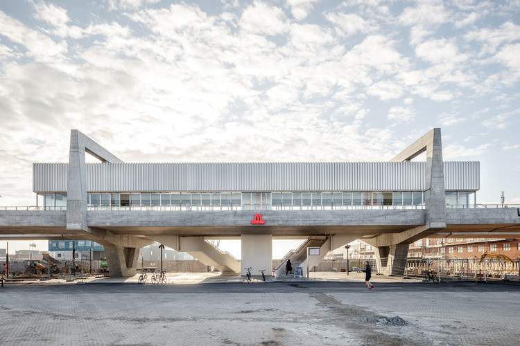 Orientkaj and Nordhavn Metro Stations / Cobe + Arup, © Rasmus Hjortshøj - COAST