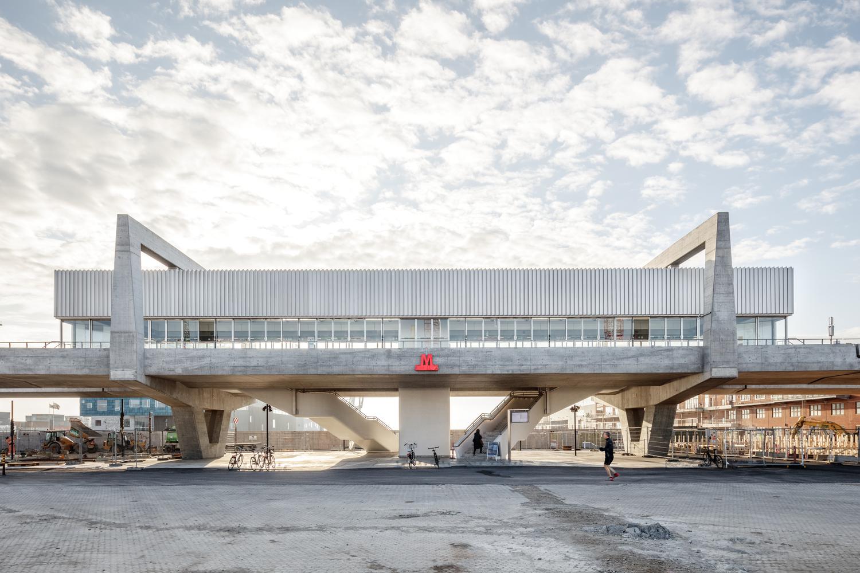 Orientkaj and Nordhavn Metro Stations / Cobe + Arup