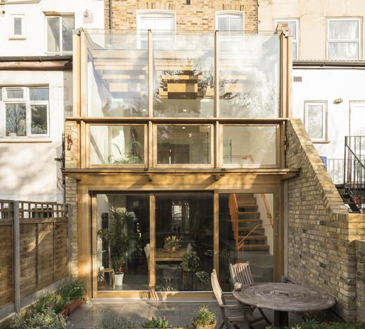 Haringey Glazed Extension / Satish Jassal Architects
