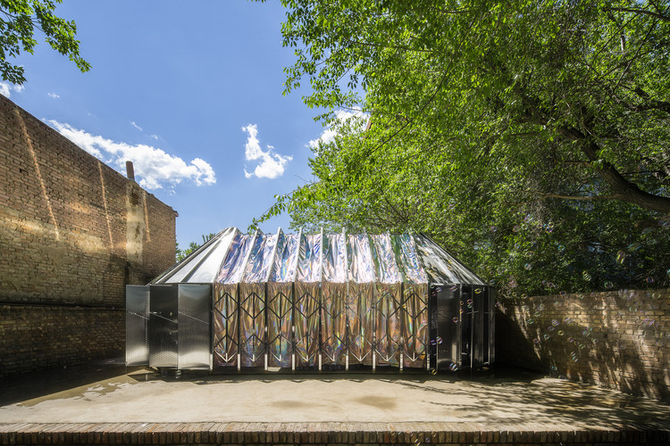 Yas Ger Movable Mongolian Yurt Ger Atelier Archdaily