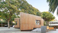 Acceso Liceo Francés / COMA Arquitectura