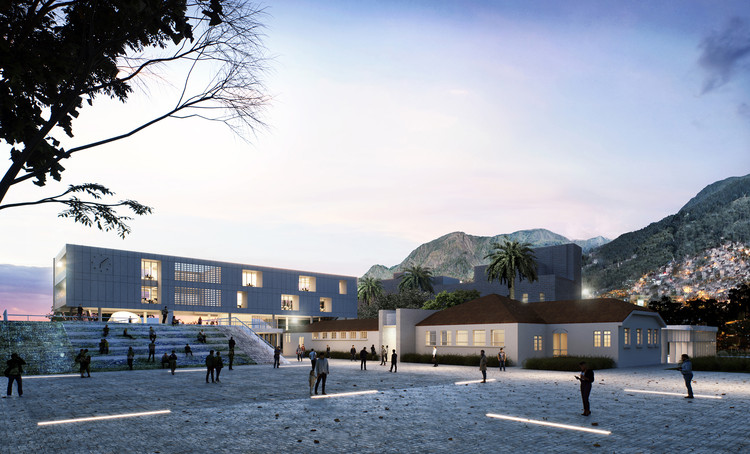 Estudio Territorios diseña la nueva sede de la alcaldía de San Cristobal en Bogotá, Cortesía de Estudio Territorios