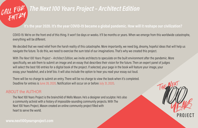 Next 100 Years Project: Architect Edition, It's the year 2020. It's the year COVID-19 became a global pandemic. How will it reshape our civilization?