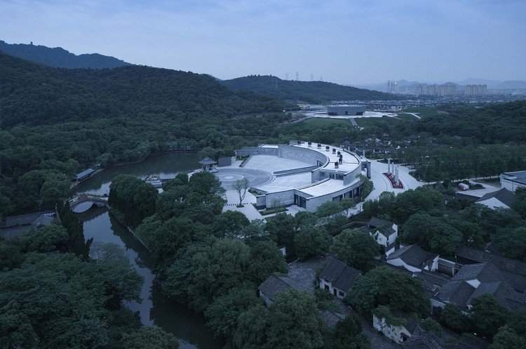 Der Große Yu-Mausoleum-Raum. Bild © Qiang Zhao