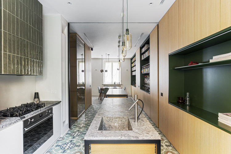Apartamento TP3 / Atelierzero + Tommaso Giunchi, © Simone Furiosi