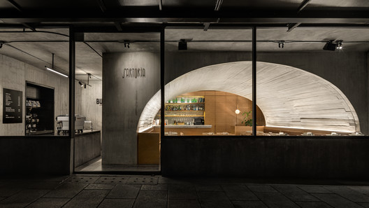 Buna Sartoría Restaurant and Coffee Shop / Taller ADG