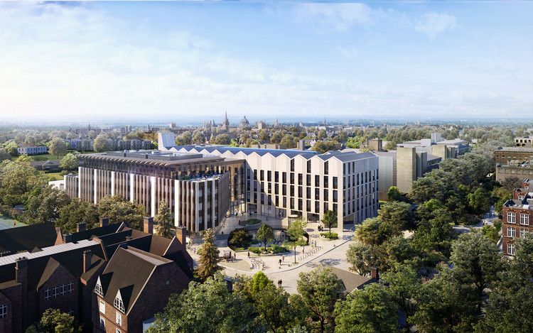 University of Oxford Announces Largest Project in its History, Designed by NBBJ, © NBBJ