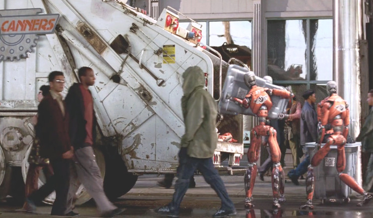 """Yo, robot"". Captura de pantalla de la película"