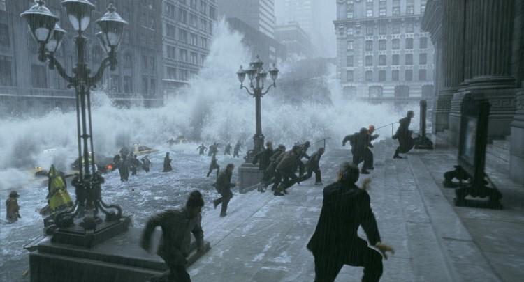 """""""El día después de mañana"""". Captura de pantalla de la película"""