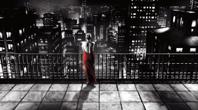 """""""Sin City"""". Captura de pantalla de la película"""