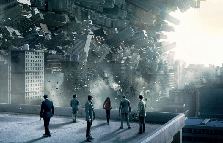 "6 Movies That Use Architectural Visualizations to Tell Stories and Create Atmospheres, ""Inception"". Screenshot of the movie"