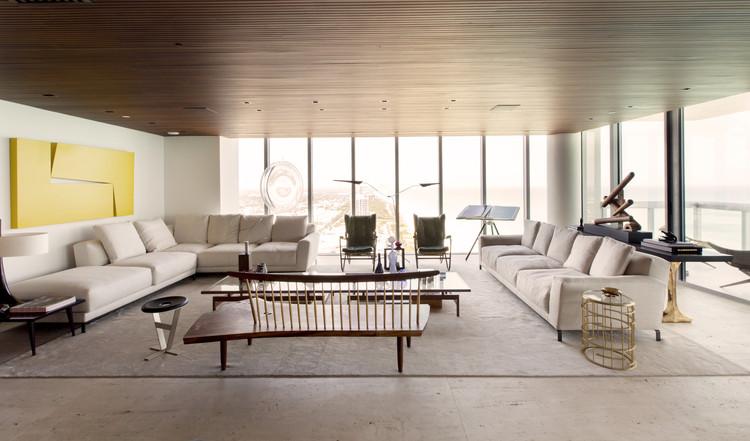 Apartamento Miami / Fernanda Marques Arquitetos Associados, © Max Zambelli
