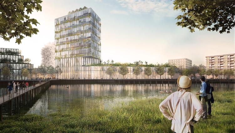 KCAP's Dynamic Masterplan for Heidelberg, Germany Moves Forward, Courtesy of KCAP