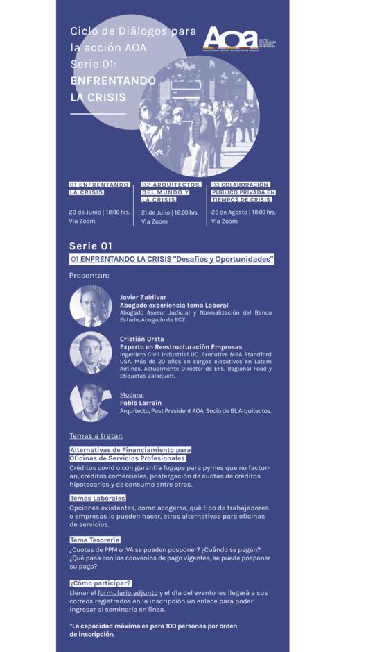 Diálogos para la acción: Enfrentando la crisis, AOA