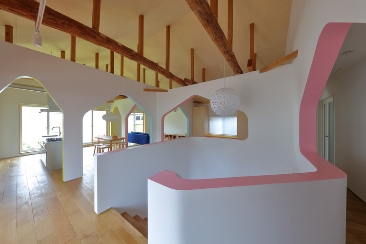 House of Many Arches / 24d-studio (Fumio Hirakawa + Marina Topounova), © Kei Sugino