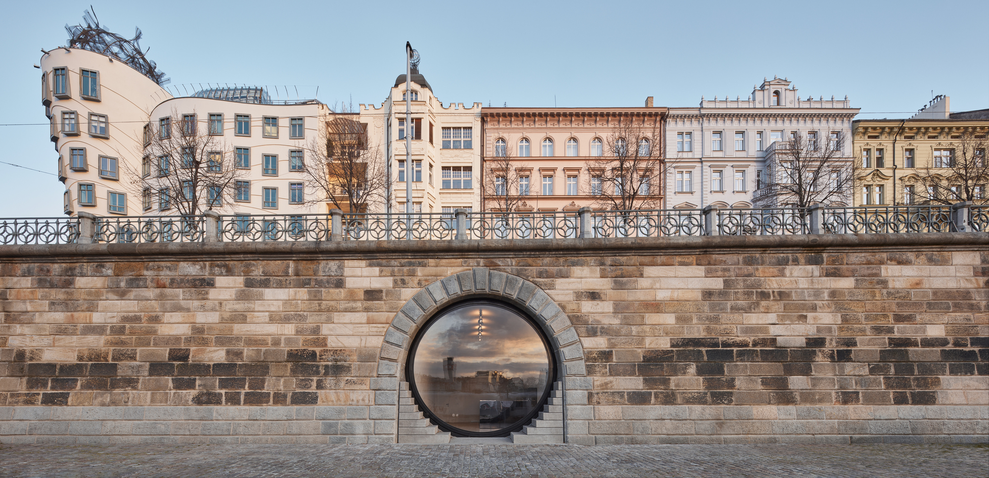 Revitalization Of Prague S Riverfront Petrjanda Brainwork Archdaily