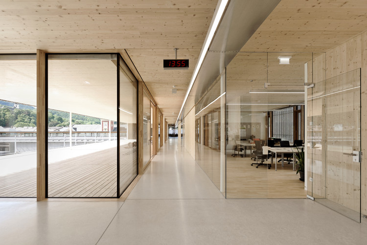 School  Complex Gloggnitz / Dietmar Feichtinger Architectes, © David Boureau