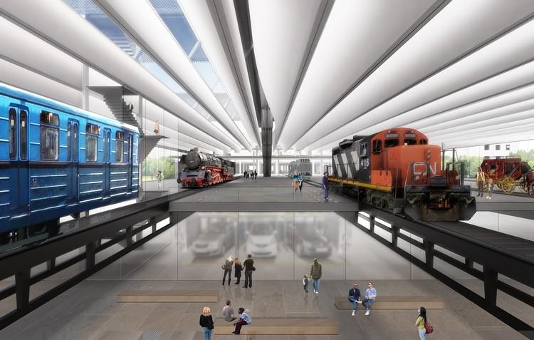 La evolución de la representación visual en la arquitectura (y hacia dónde se dirige), Museo de transporte húngaro. Image Cortesía de Diller Scofidio + Renfro