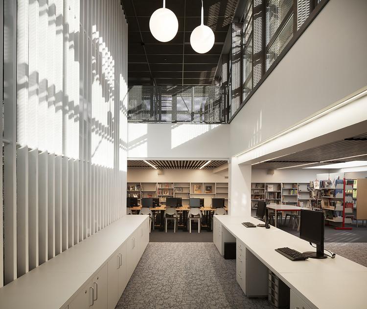 Paul Heraud High School in Gap / Romain Jamot Architecture 1