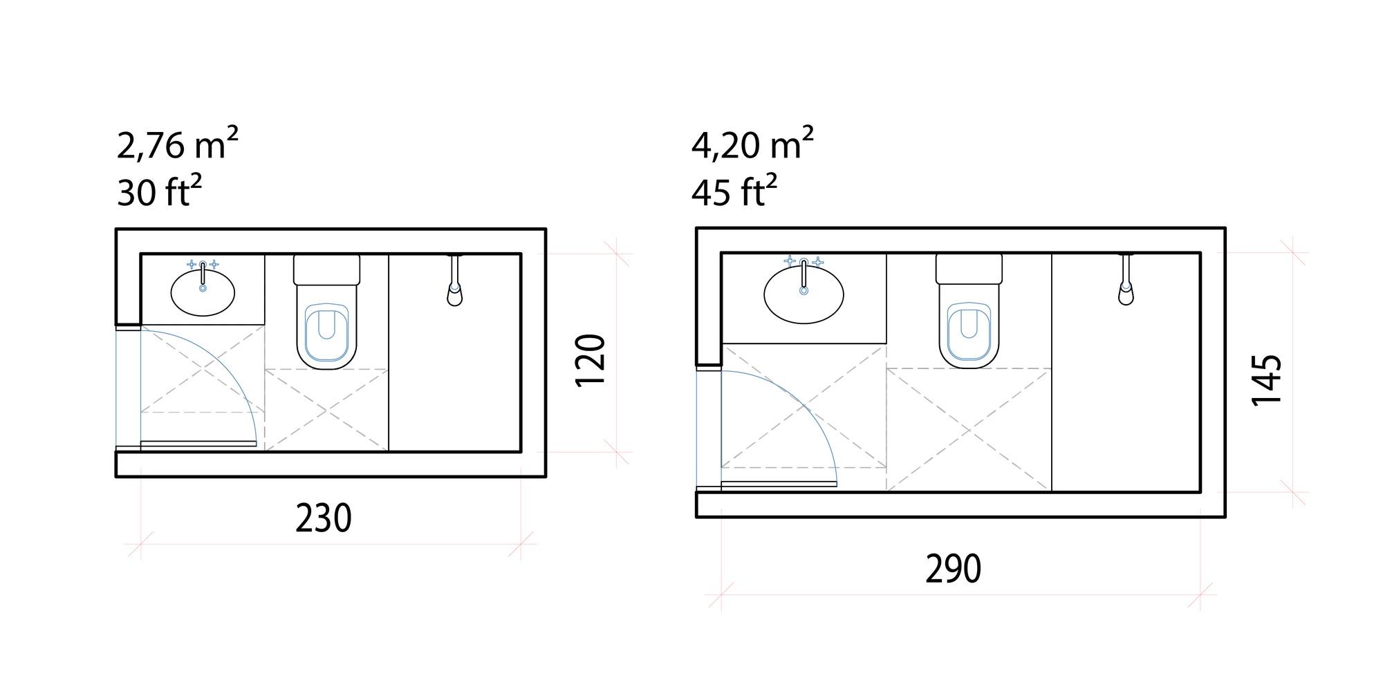 Galería de Dimensiones mínimas y configuraciones ...