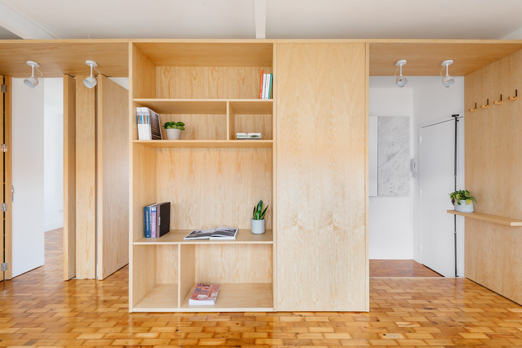 Apartment in Alvalade  / Atelier 106, © Do Mal o Menos