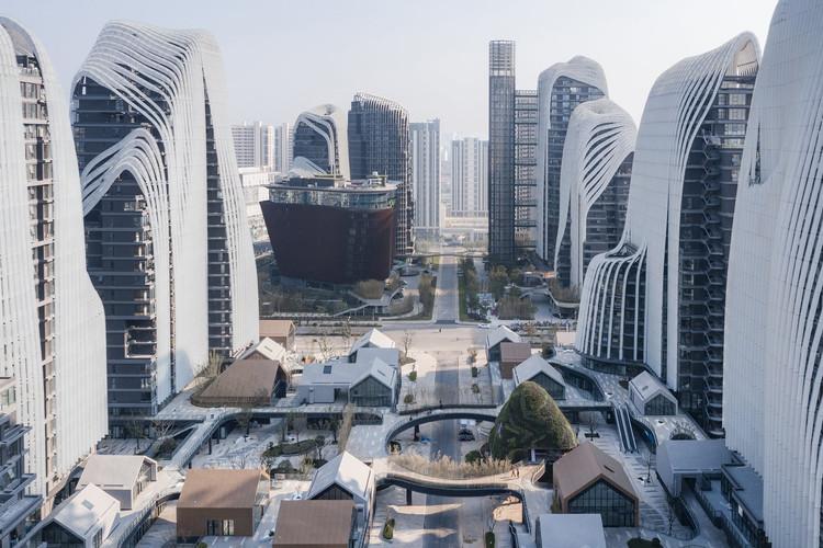 Nanjing Zendai Himalayas Center. Image Cortesía de MAD Architects