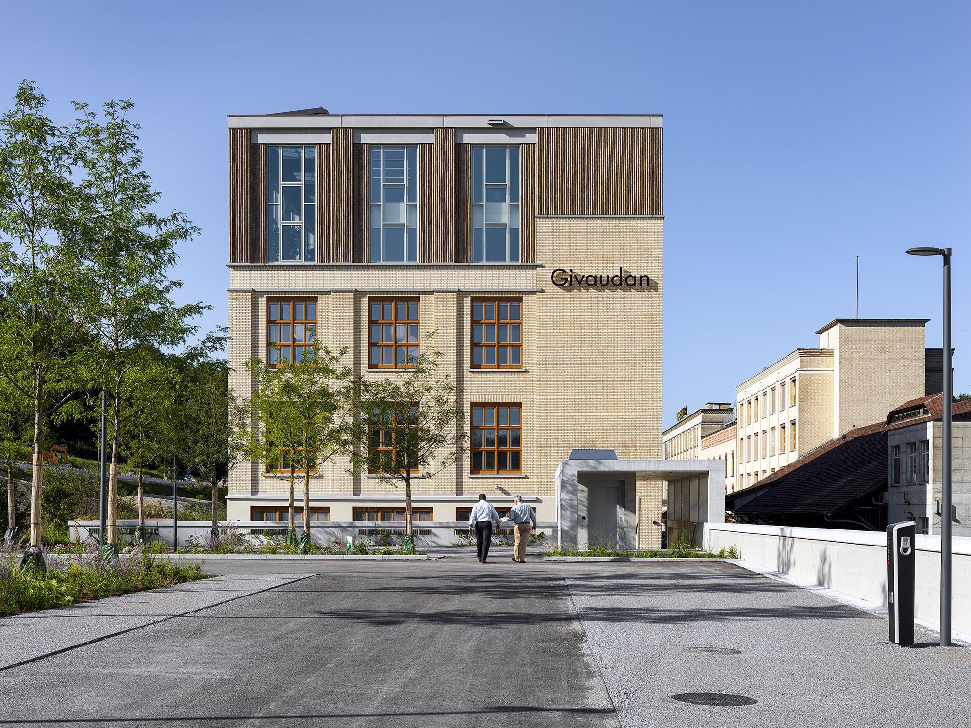 Office Building Givaudan / Ernst Niklaus Fausch Partner