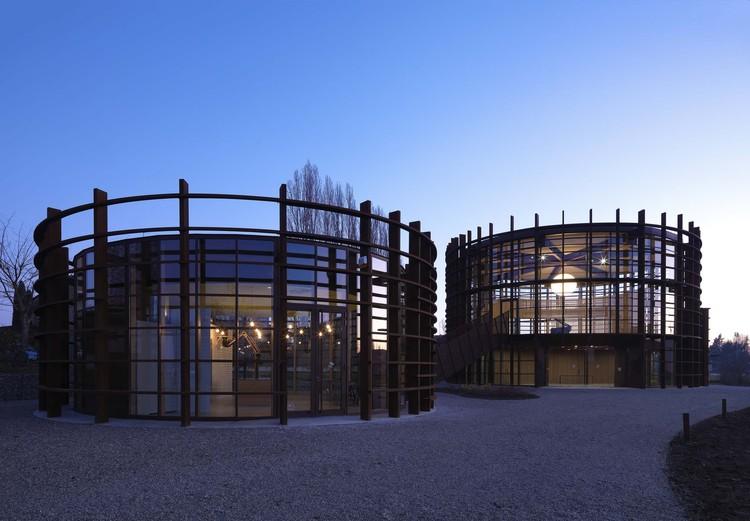 Workshop Ricostruzione - The Sports and Culture Center / Mario Cucinella Architects, exterior. Image © MC Archive