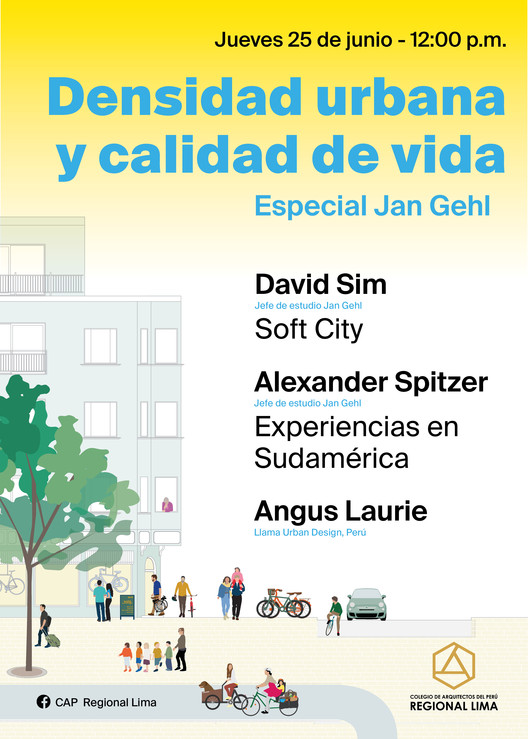 Densidad urbana y calidad de vida: especial Jan Gehl